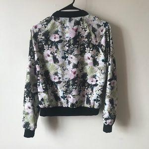 Sanctuary Jackets & Coats - Sanctuary Floral Bomber Jacket